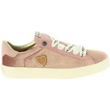 Zapatos Niña Zapatillas bajas Pepe jeans PGS30375 PORTOBELLO Rosa