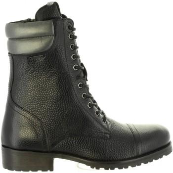 Zapatos Mujer Botas urbanas Pepe jeans PLS50350 MELTING Negro