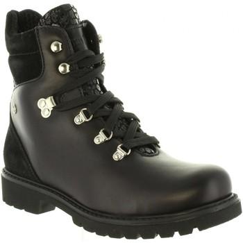 Zapatos Mujer Botas de caña baja Panama Jack BAREI B1 Negro
