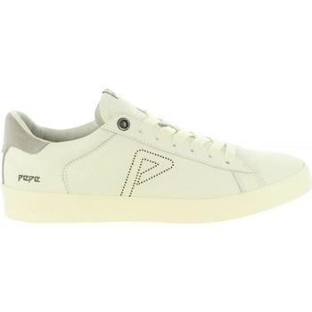 Zapatos Hombre Zapatillas bajas Pepe jeans PMS30497 PORTOBELLO Blanco