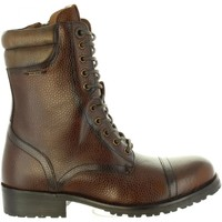 Zapatos Mujer Botas urbanas Pepe jeans PLS50350 MELTING Marr?n