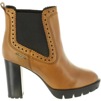 Zapatos Mujer Botines Pepe jeans PLS50326 VERNON Marr?n