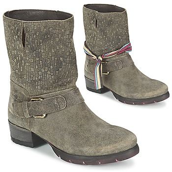 Zapatos Mujer Botas de caña baja Felmini RARSA Marrón