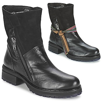 Zapatos Mujer Botas de caña baja Felmini CLARA Negro