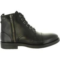 Zapatos Hombre Botas urbanas Pepe jeans PMS50163 TOM-CUT 999 BLACK Negro