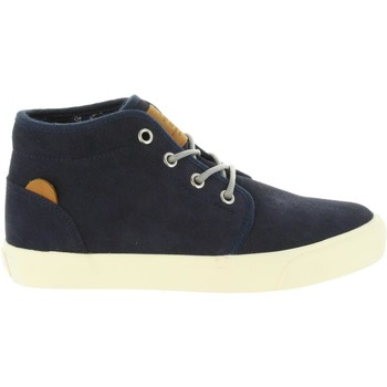 Zapatos Niño Zapatillas altas Pepe jeans PBS30379 TRAVELER Azul