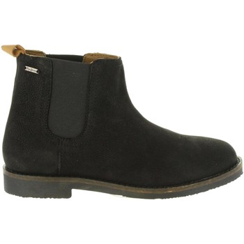 Zapatos Niños Botas urbanas Pepe jeans PBS50075 ROY Negro