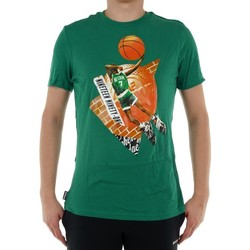 textil Hombre camisetas manga corta Reebok Sport Classic Basketball Pump 1 Tshirt Verde