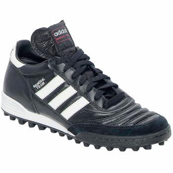 Zapatos Fútbol adidas Performance MUNDIAL TEAM DUR Negro / Blanco