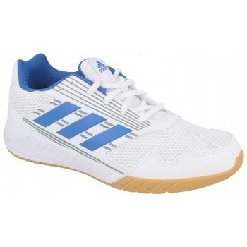 Zapatos Niños Zapatillas bajas adidas Originals ALTARUN K FTWR MID GREY blanco