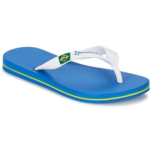 Ipanema CLASSICA BRASIL II KIDS Azul / Blanco - Envío gratis | ! - Zapatos Chanclas Nino