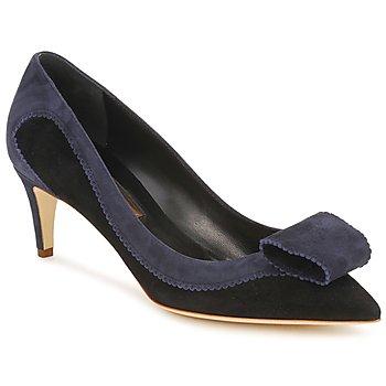 Zapatos Mujer Zapatos de tacón Rupert Sanderson BESSIE Azul / Negro