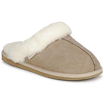 Zapatos Mujer Pantuflas Shepherd JESSICA Beige
