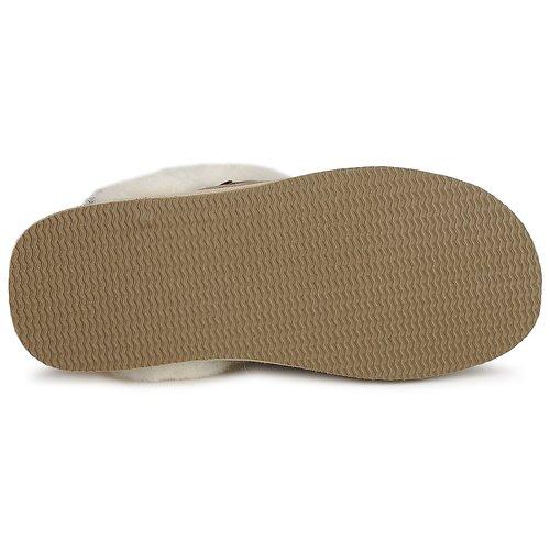 Jessica Mujer Zapatos Pantuflas Shepherd Beige fg76by
