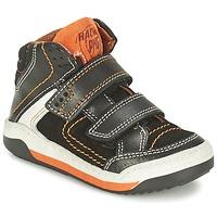 Zapatos Niño Zapatillas altas Primigi MOTT Negro / Naranja