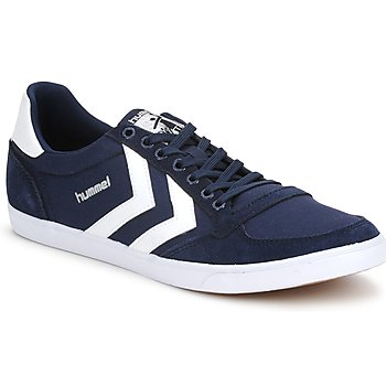 Hummel TEN STAR LOW CANVAS Marino