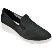 Zapatos Mujer Slip on FitFlop  Negro