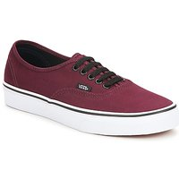 Zapatos Zapatillas bajas Vans AUTHENTIC Burdeo