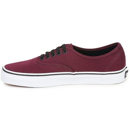 Bajas Vans Authentic Zapatos Zapatillas Burdeo 2EDIYe9WH