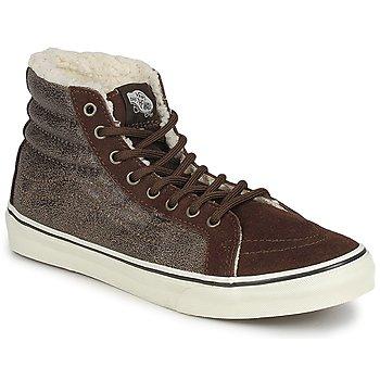 Zapatos Mujer Zapatillas altas Vans CHUKKA SLIM Marrón
