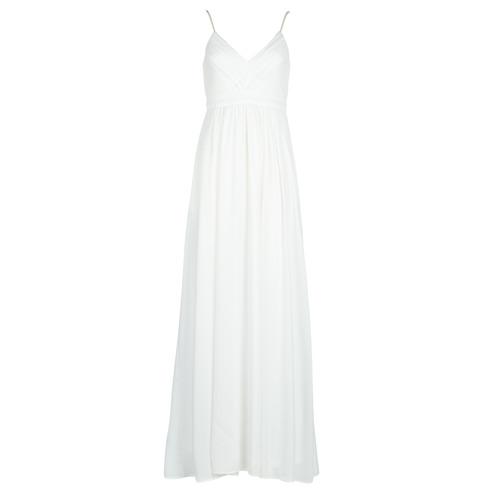 Betty London VICTOIRE Blanco - Envío gratis | ! - textil vestidos largos Mujer