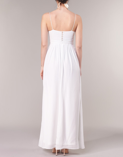 Victoire Textil Vestidos Betty Blanco Largos London Mujer eordxBC