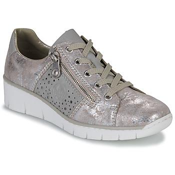 Zapatos Mujer Zapatillas bajas Rieker RIKTUS Oro