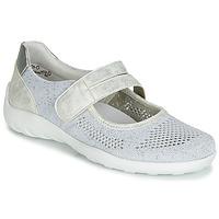 Zapatos Mujer Bailarinas-manoletinas Remonte Dorndorf HUIJI Plata