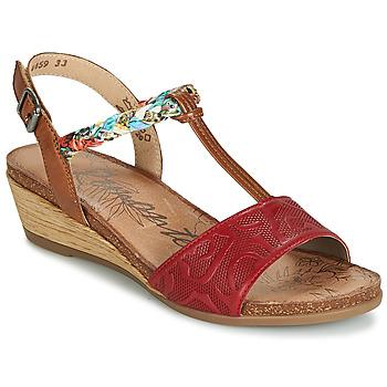 Zapatos Mujer Sandalias Remonte Dorndorf MIJUS Rojo