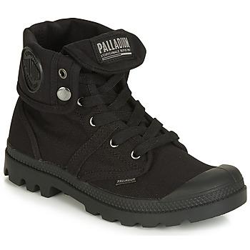 Zapatos Mujer Botas de caña baja Palladium PALLABROUSE BAGGY Negro