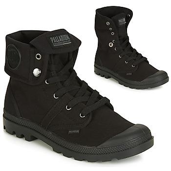 Zapatos Hombre Botas de caña baja Palladium PALLABROUSE BAGGY Negro
