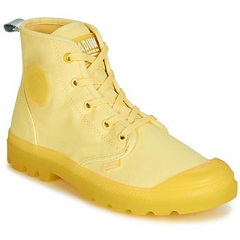 8524f17fe53 Zapatos Mujer Botas de caña baja Palladium PAMPALICIOUS Amarillo