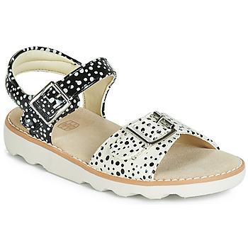 Zapatos Niña Sandalias Clarks Crown Bloom K Negro
