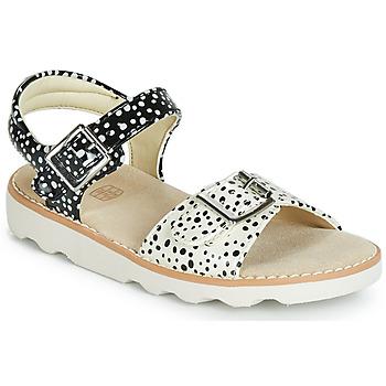 Zapatos Niña Sandalias Clarks Crown Bloom T Negro