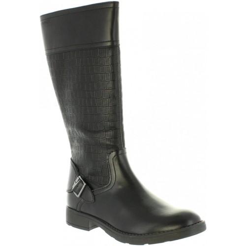 Geox J84D3D 05404 J SOFIA Negro - Envío gratis | ! - Zapatos Botas Nino