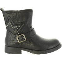 Zapatos Niña Botas Geox J74D3C 000BU J SOFIA Negro
