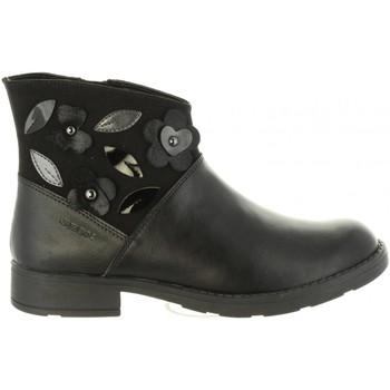 Zapatos Niña Botines Geox J84D3B 054AU J SOFIA Negro