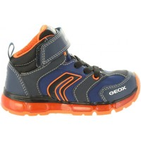 Zapatos Niño Zapatillas altas Geox J8444B 011CE J ANDROID Azul