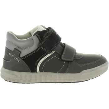 Zapatos Niño Botas de caña baja Geox J844AB 05422 J ARZACH Negro