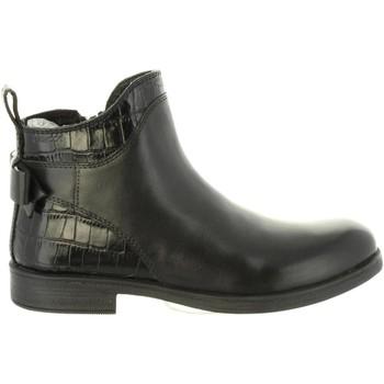 Zapatos Niña Botines Geox J8449B 0436Y J AGATA Negro