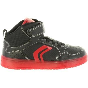 Zapatos Niño Zapatillas altas Geox J825PC 0BCBU J KOMMODOR Negro