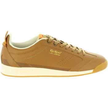 Zapatos Hombre Zapatillas bajas Kickers 664790-60 KICK 18 LEA Marrón