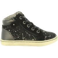 Zapatos Niña Zapatillas altas Kickers 572061-10 LYLUBY Negro