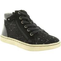 Zapatos Niña Zapatillas altas Kickers 572061-30 LYLUBY Negro