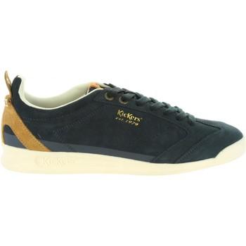 Zapatos Hombre Zapatillas bajas Kickers 596880-60 KICK 18 Azul