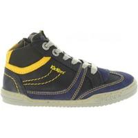 Zapatos Niños Zapatillas altas Kickers 661470-30 JIROMA Azul