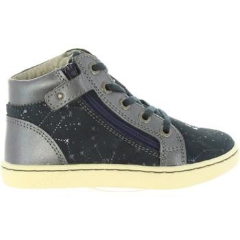 Zapatos Niña Zapatillas altas Kickers 572061-10 LYLUBY Azul