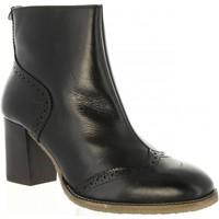 Zapatos Mujer Botines Kickers 656450-50 MISTY Negro