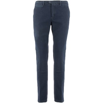 textil Mujer pantalones chinos Teleria Zed MADE IN ITALY SFS azul