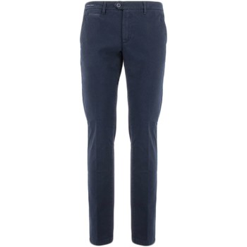textil Hombre pantalones chinos Teleria Zed MADE IN ITALY GR azul